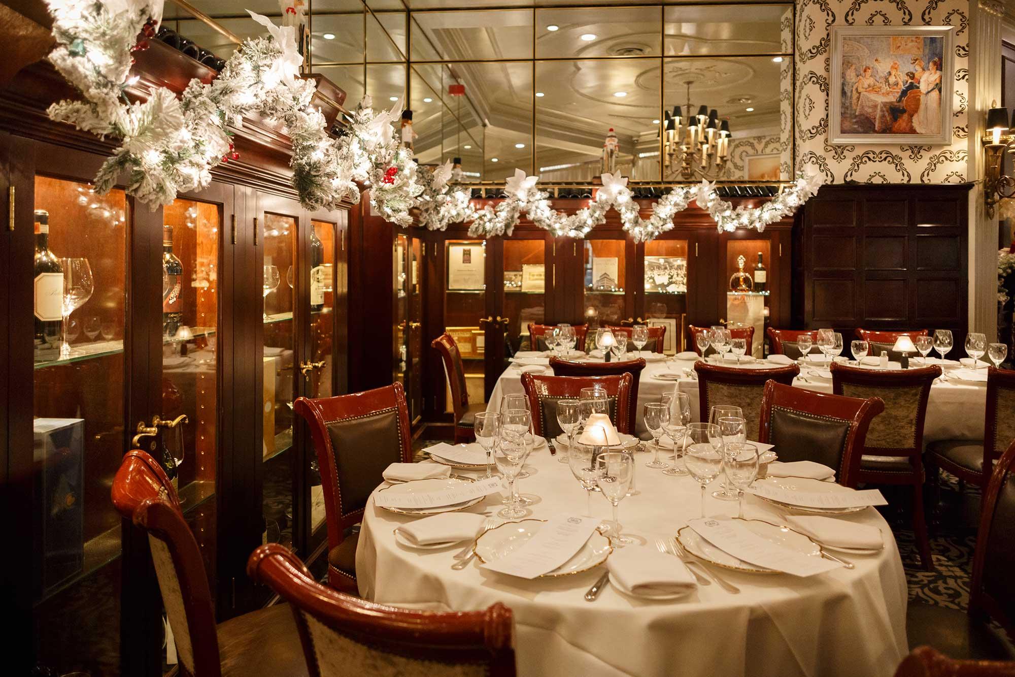 Private Dining Delmonicos Steak House